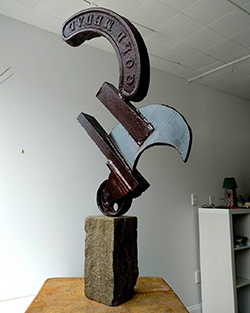image of sculpture by Michael Ciccone